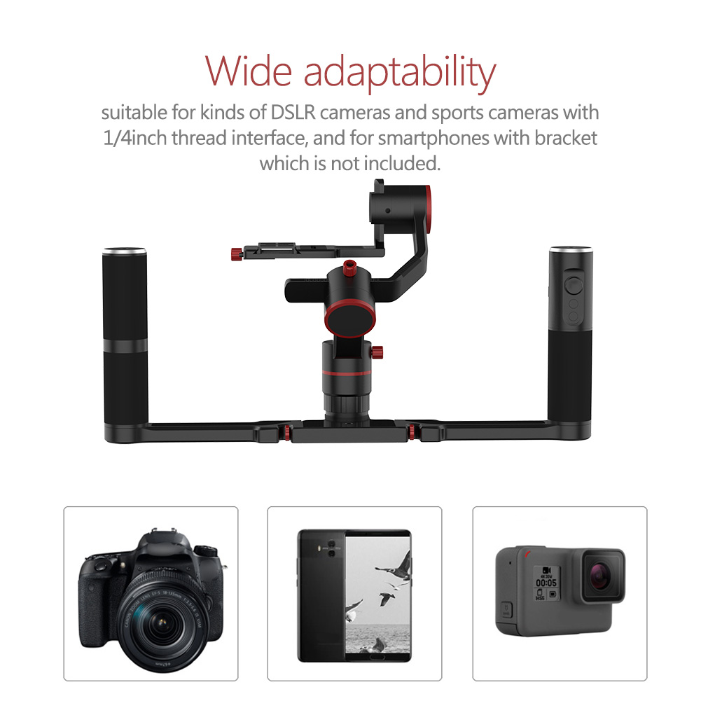 Feiyu-a1000-a2000-Handheld-Camera-Stabilizer-Gimbal-for-Mirrorless-DSLR-Cameras thumbnail 15