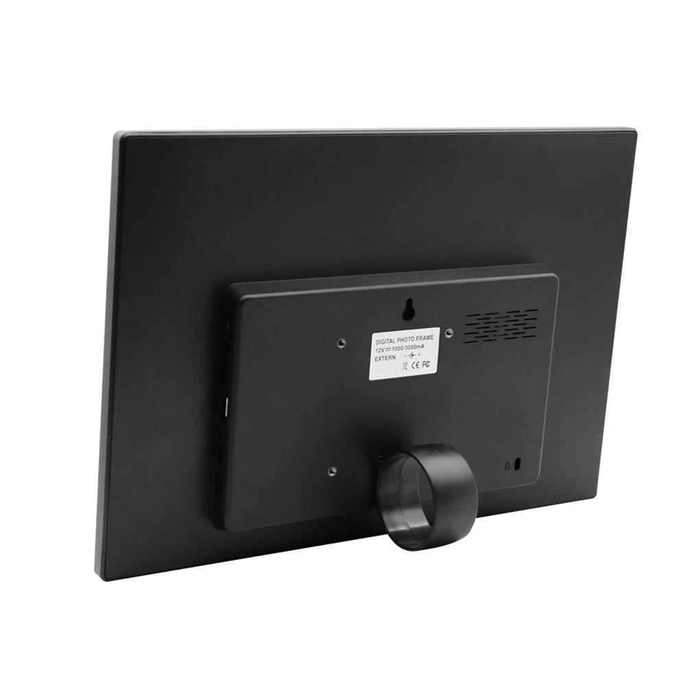 15\'\' HD Smart Induction Touch-Bilderrahmen Auto Play Kalender Wecker ...