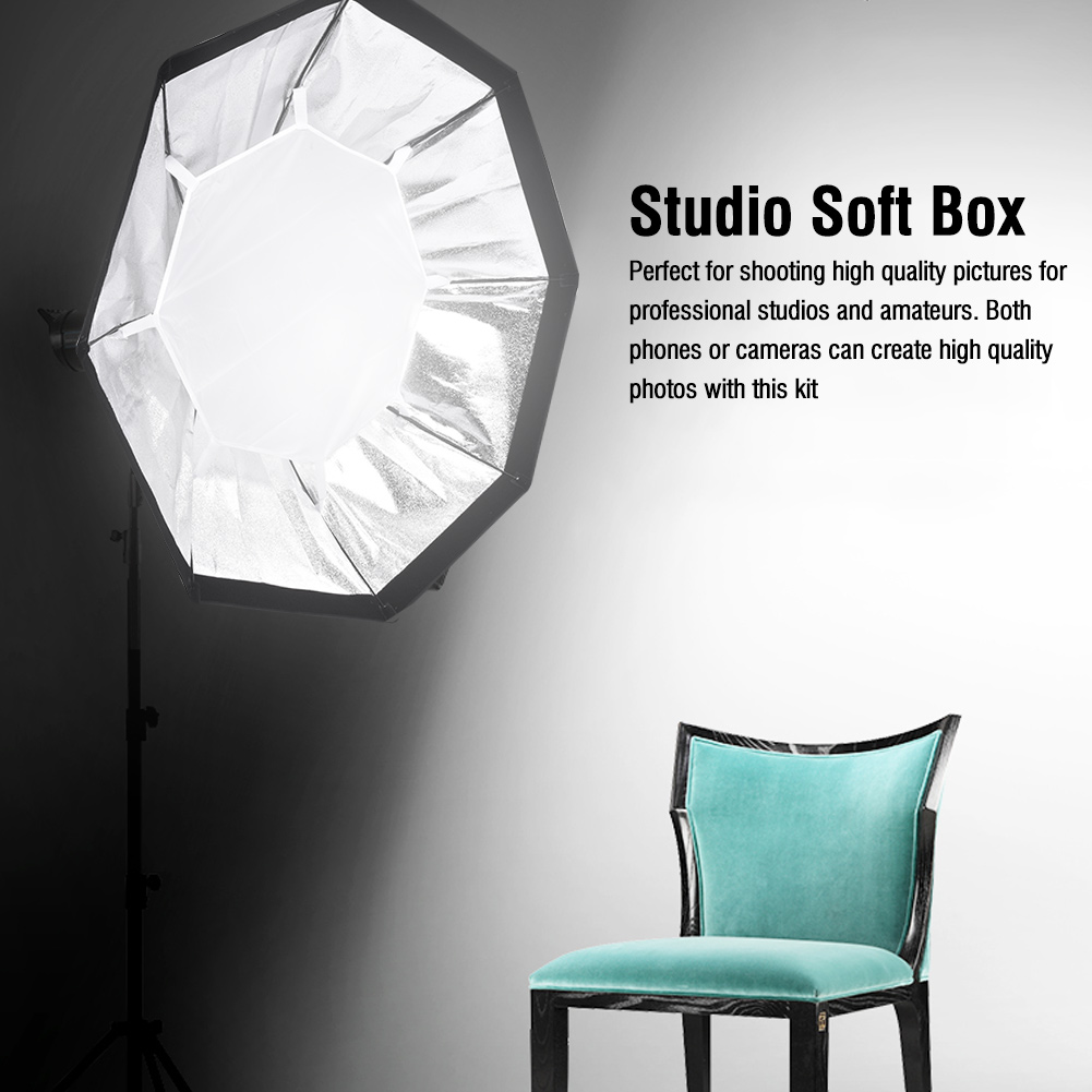 Camera-Video-Photo-Studio-Accessory-Photography-Softbox-Light-Stand-Lighting-Kit thumbnail 21