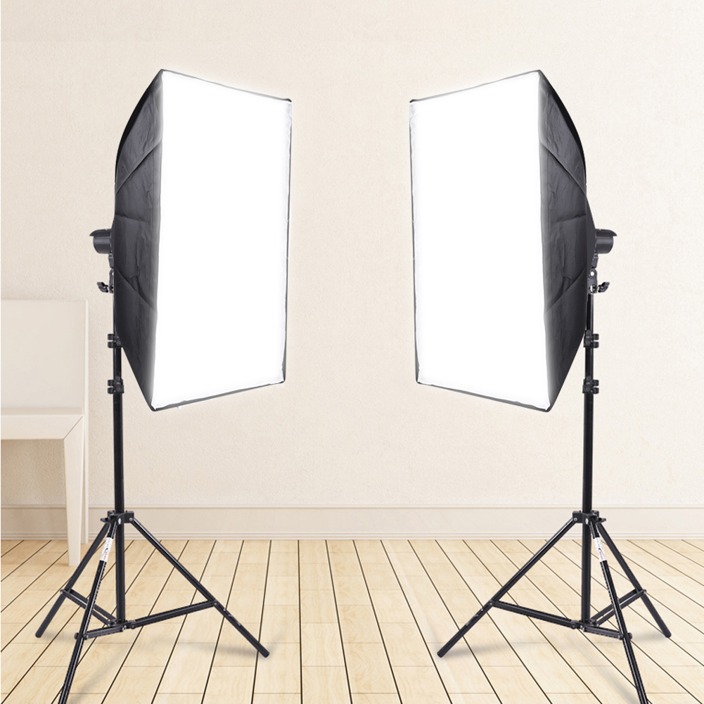 Camera-Video-Photo-Studio-Accessory-Photography-Softbox-Light-Stand-Lighting-Kit thumbnail 11