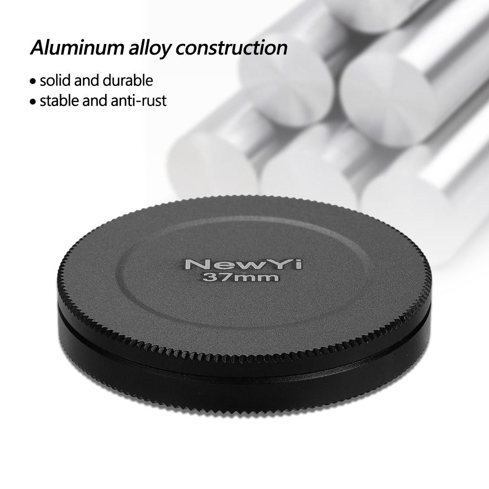 Aluminum-Alloy-Dustproof-Threaded-Camera-Lens-Filter-Metal-Protective-Cap-Cover thumbnail 10