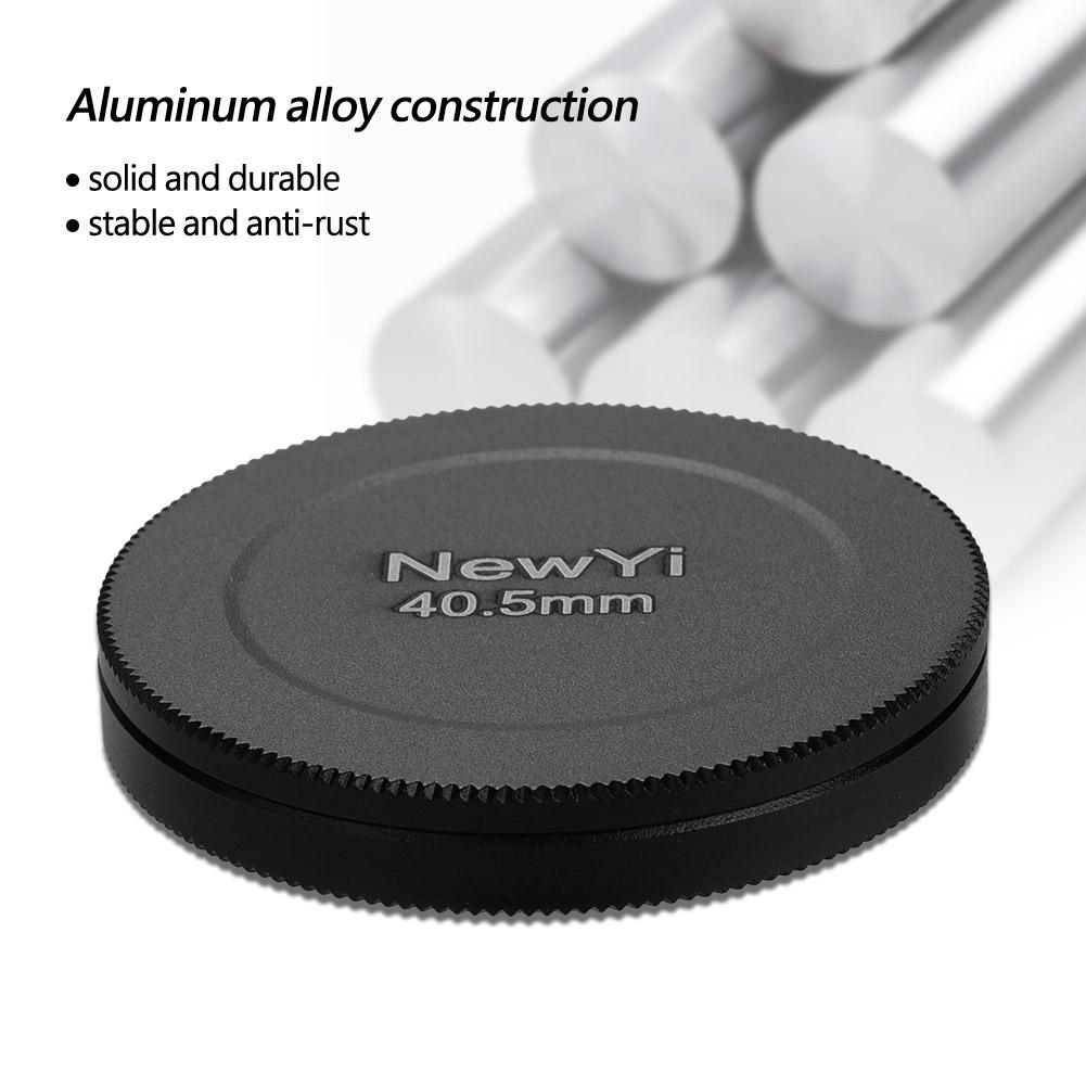 Aluminum-Alloy-Dustproof-Threaded-Camera-Lens-Filter-Metal-Protective-Cap-Cover thumbnail 13