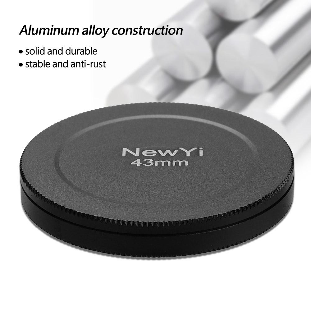 Aluminum-Alloy-Dustproof-Threaded-Camera-Lens-Filter-Metal-Protective-Cap-Cover thumbnail 16