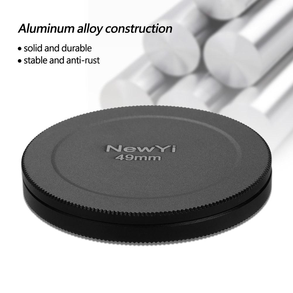 Aluminum-Alloy-Dustproof-Threaded-Camera-Lens-Filter-Metal-Protective-Cap-Cover thumbnail 22