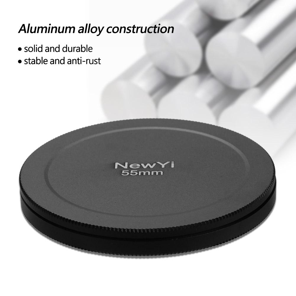 Aluminum-Alloy-Dustproof-Threaded-Camera-Lens-Filter-Metal-Protective-Cap-Cover thumbnail 28