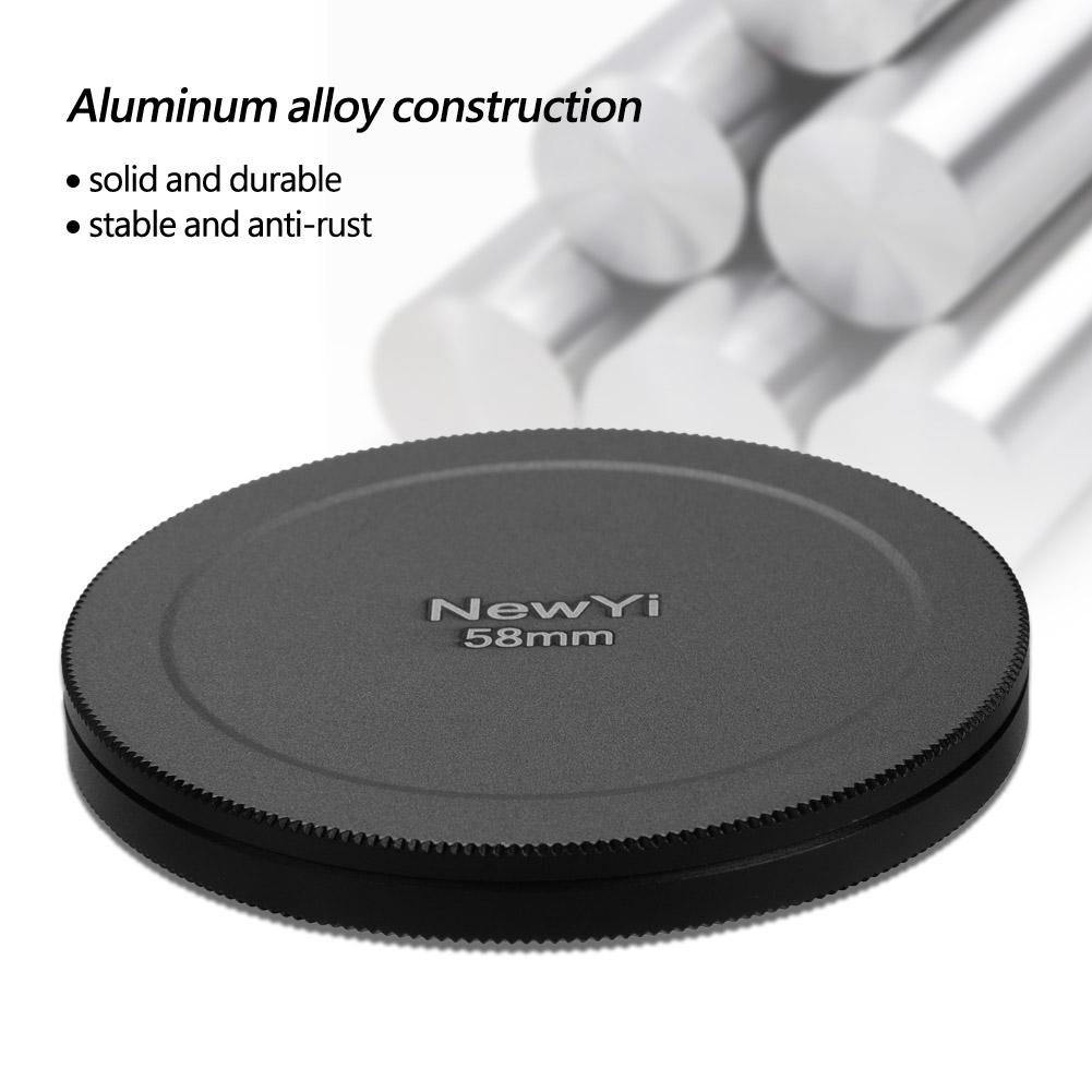 Aluminum-Alloy-Dustproof-Threaded-Camera-Lens-Filter-Metal-Protective-Cap-Cover thumbnail 31