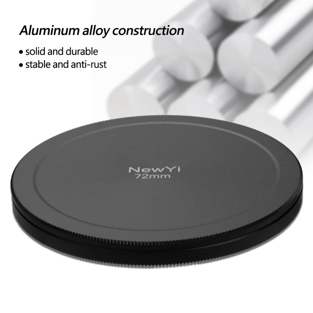 Aluminum-Alloy-Dustproof-Threaded-Camera-Lens-Filter-Metal-Protective-Cap-Cover thumbnail 40