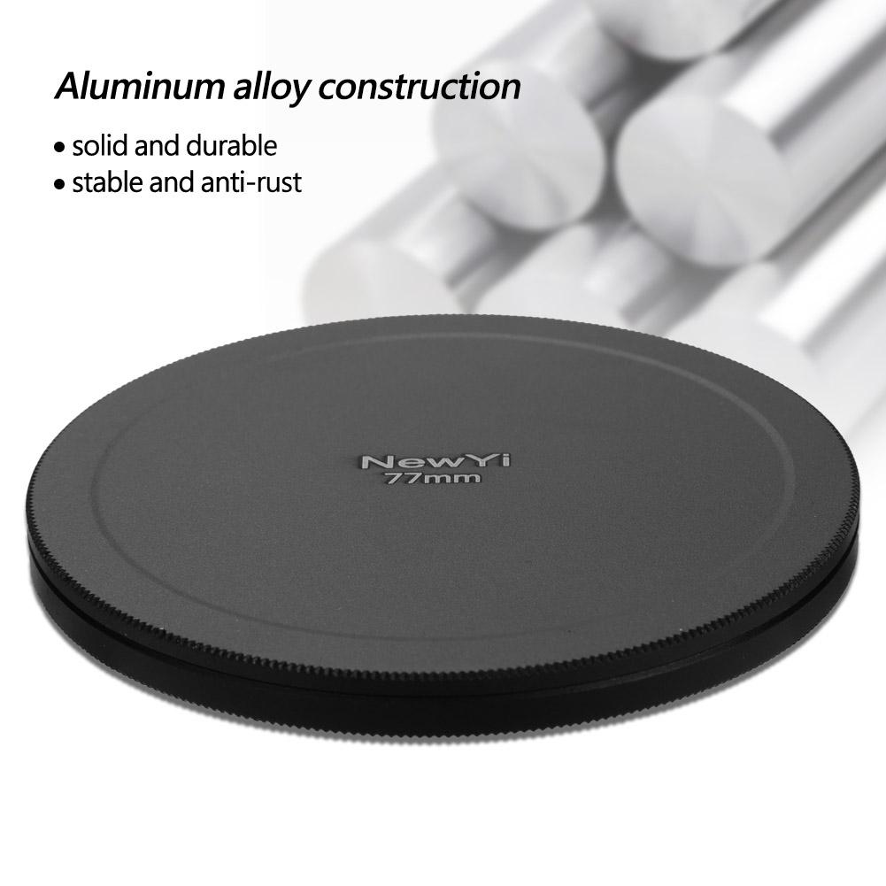 Aluminum-Alloy-Dustproof-Threaded-Camera-Lens-Filter-Metal-Protective-Cap-Cover thumbnail 43