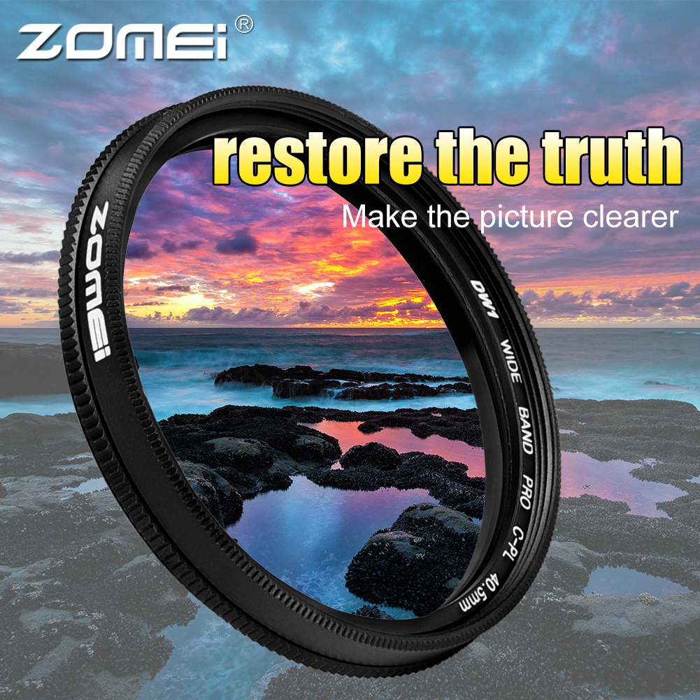 ZOMEI-Ultra-Slim-40-5-86mm-Glass-Cpl-Circular-Optical-Lens-Filter-Accessory-Kit thumbnail 13