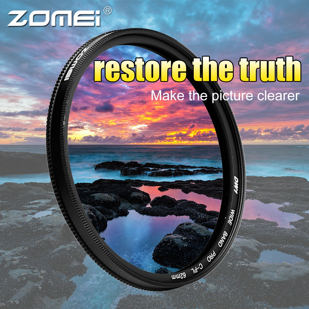 ZOMEI-Ultra-Slim-40-5-86mm-Glass-Cpl-Circular-Optical-Lens-Filter-Accessory-Kit thumbnail 28