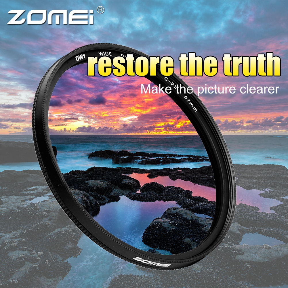 ZOMEI-Ultra-Slim-40-5-86mm-Glass-Cpl-Circular-Optical-Lens-Filter-Accessory-Kit thumbnail 31
