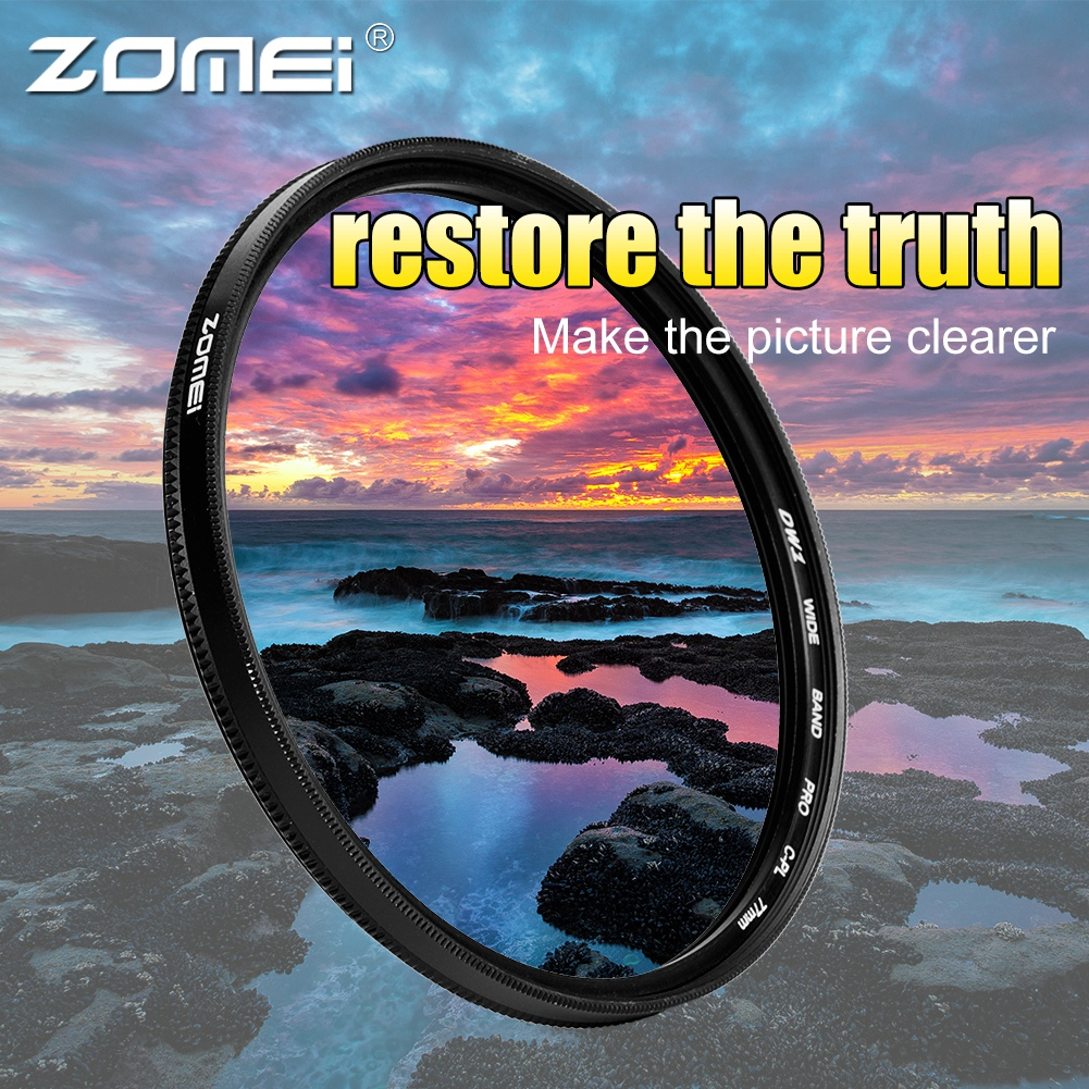 ZOMEI-Ultra-Slim-40-5-86mm-Glass-Cpl-Circular-Optical-Lens-Filter-Accessory-Kit thumbnail 37