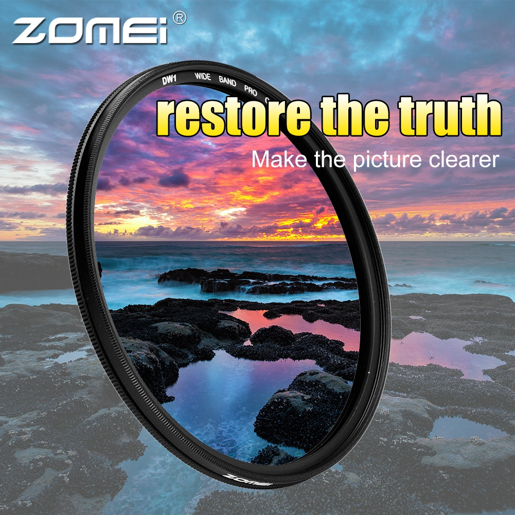 ZOMEI-Ultra-Slim-40-5-86mm-Glass-Cpl-Circular-Optical-Lens-Filter-Accessory-Kit thumbnail 40