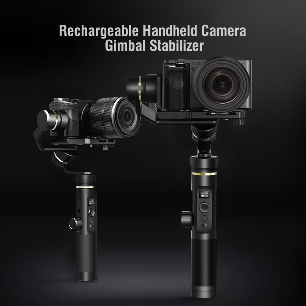 Feiyu-G6-Plus-Handheld-Gimbal-Stabilizer-for-for-Action-Camera-amp-Smartphone-STP thumbnail 14