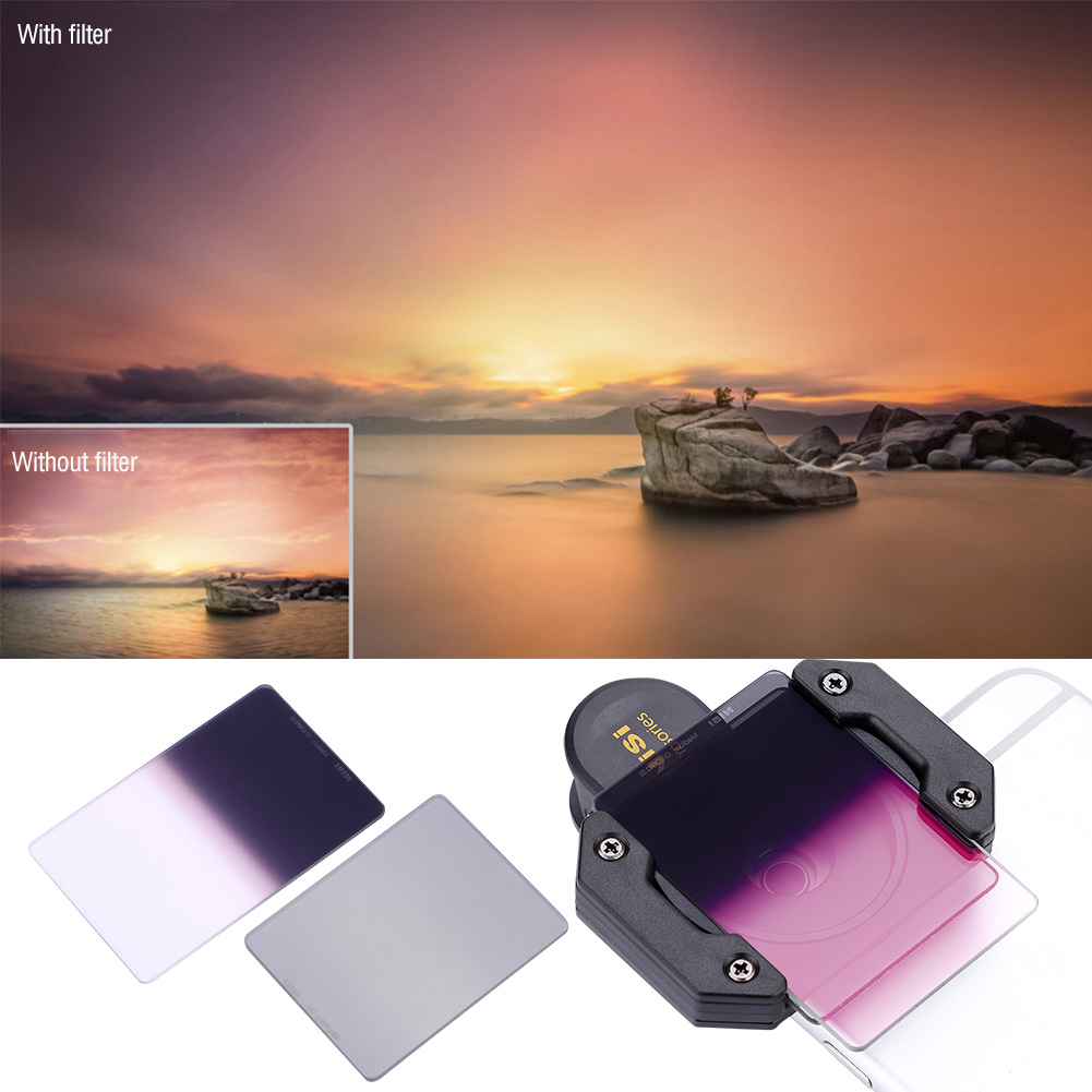 Professional-Polarizer-Filter-Medium-GND8-0-9-Holder-Filter-For-NiSi-P1-Phone