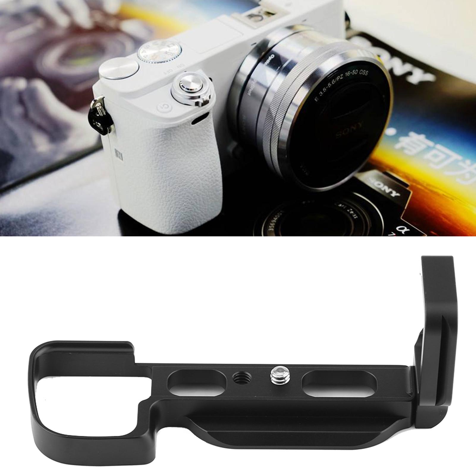 Quick Release Holder L Plate Vertival Bracket Grip For Sony A6000 Kamera Alpha Image