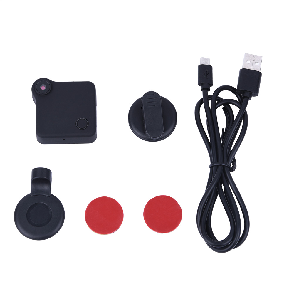 Portatil-WiFi-Mini-Camara-Videocamara-720P-HD-Deteccion-DV-Soporte-Abrazadera