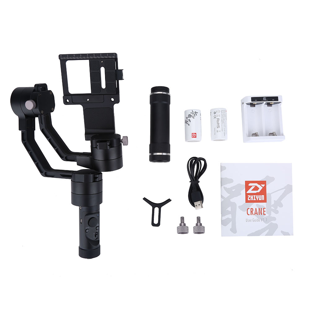 360 grad drehbar 3 achsen stabilizer handheld gimbal f r. Black Bedroom Furniture Sets. Home Design Ideas
