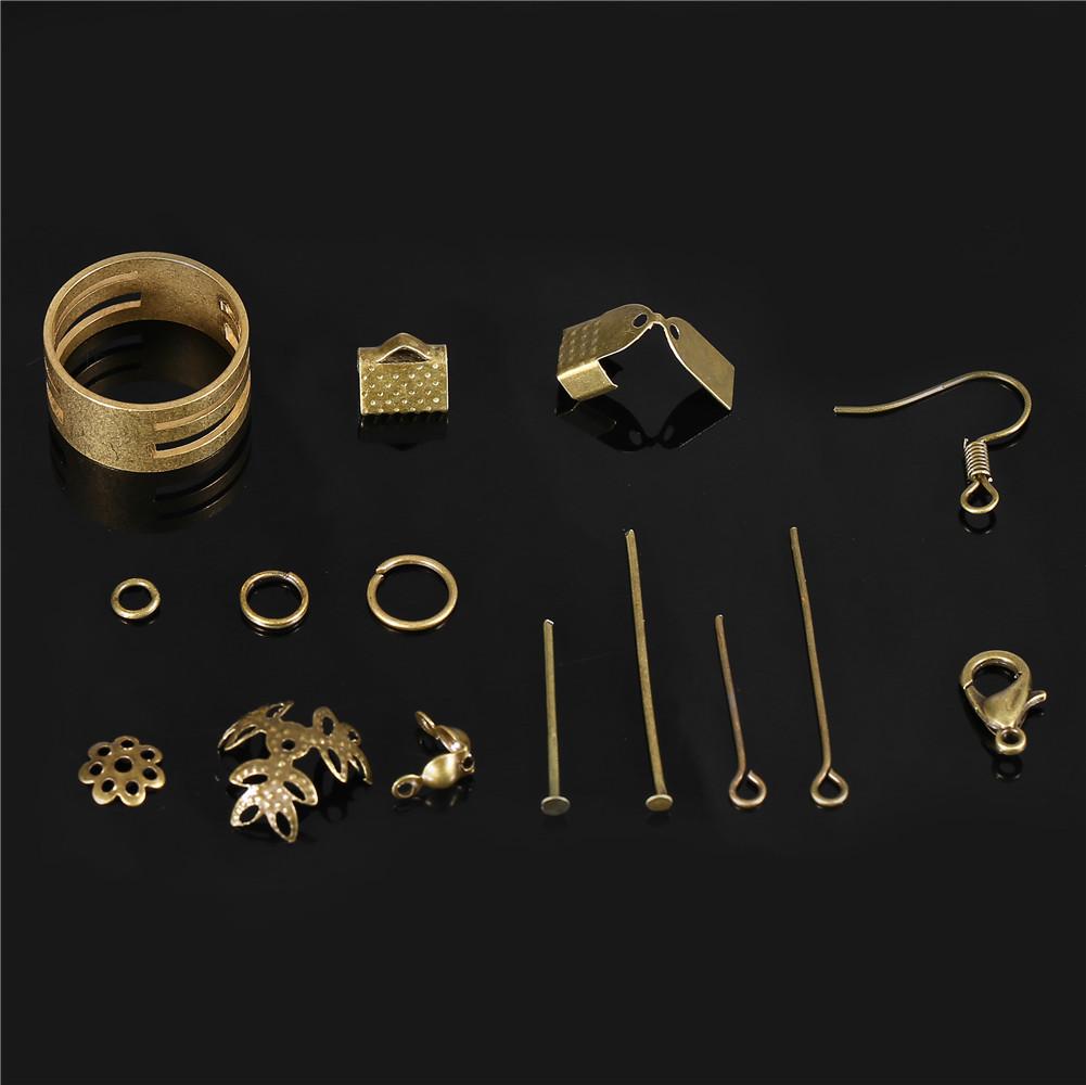 Jewellery Making Starter Kit Beads Head Pins Chain Findings Handmade Accessories
