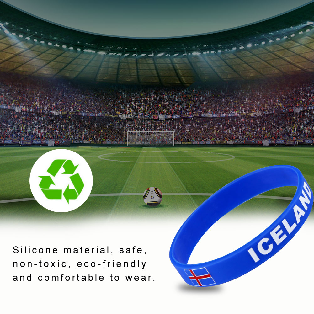 2018-World-Cup-Country-Flag-Silicone-Bracelet-Rubber-Sport-Wrist-band-Wristband