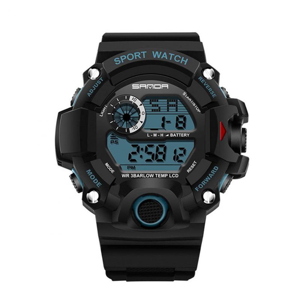 SANDA-Multi-functional-Electronic-Watch-Waterproof-Digital-Sport-LED-Wristwatch