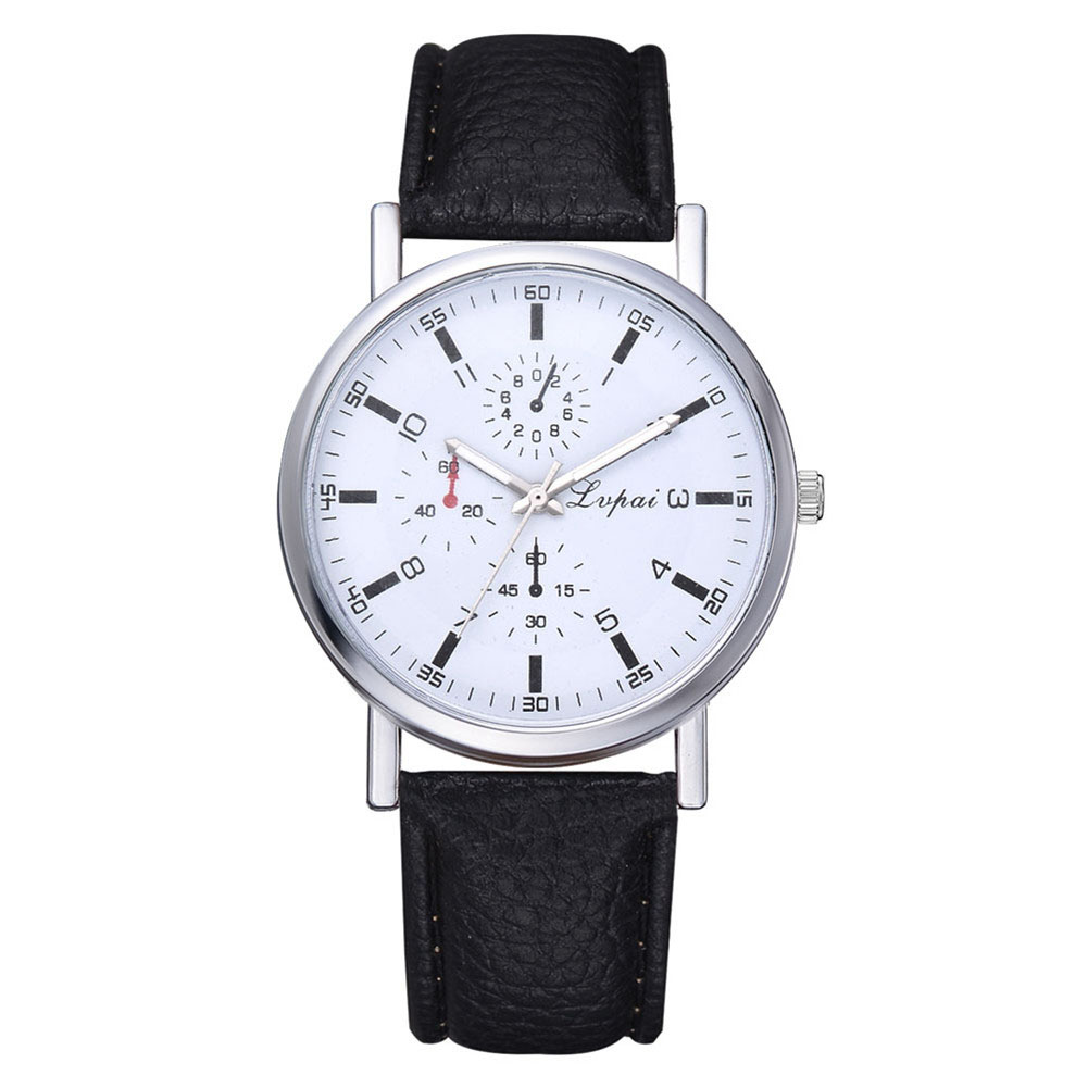 Fashion-Mens-Casual-Sport-Watches-Leather-Strap-Quartz-Analog-Wrist-Watch-Gifts