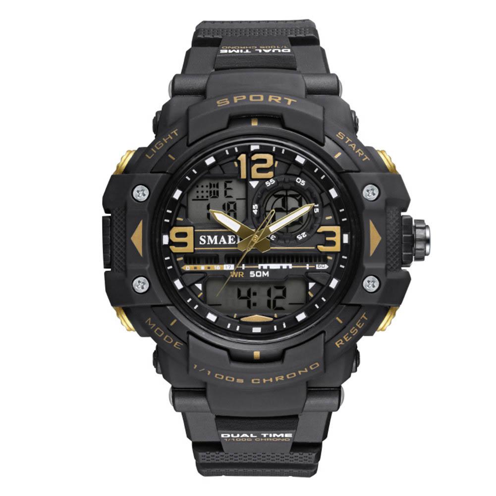 SMAEL-Casual-Men-039-s-Sports-Watch-Waterproof-Plastic-Strap-Electronic-Wristwatch
