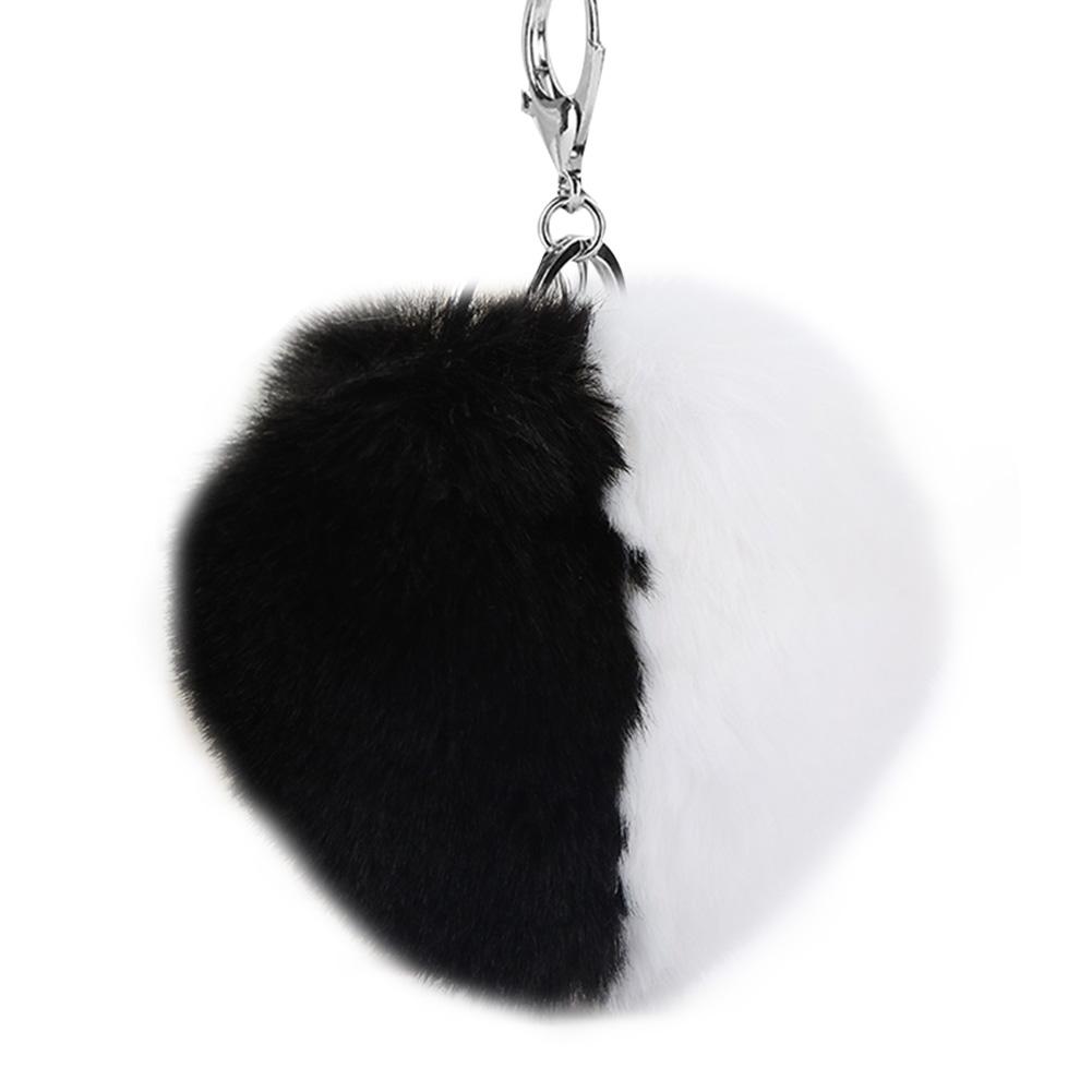 Hot-Fuax-Rabbit-Fur-Pom-Fluffy-Ball-Car-Keychain-Pendant-Handbag-Charm-Keyrings