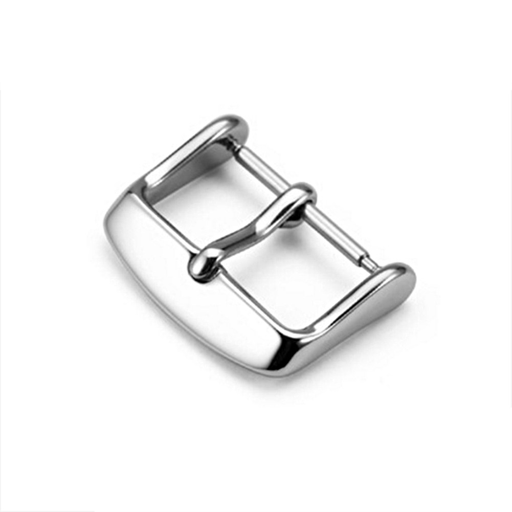 12mm-20mm-Watch-Band-Top-Stainless-Steel-Pin-Needle-Buckle-Wristwatch-Clasp thumbnail 9