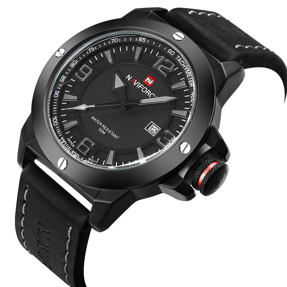 NAVIFORCE-Fashion-Sports-Men-039-s-Waterproof-Quartz-Leather-Casual-Calendar-Watches thumbnail 20