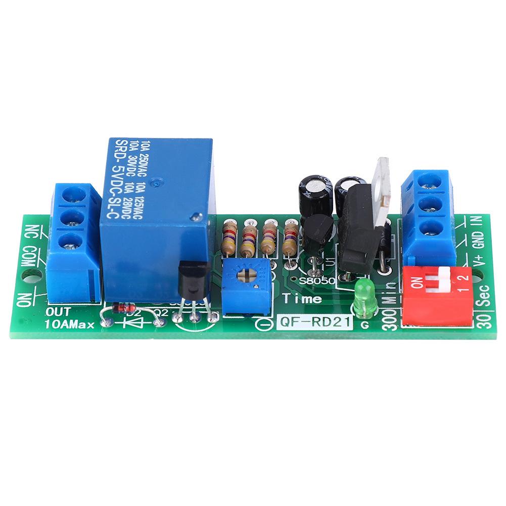 Dc 5v  12v  24v 10a Relay Module Switch Trigger Time Delay