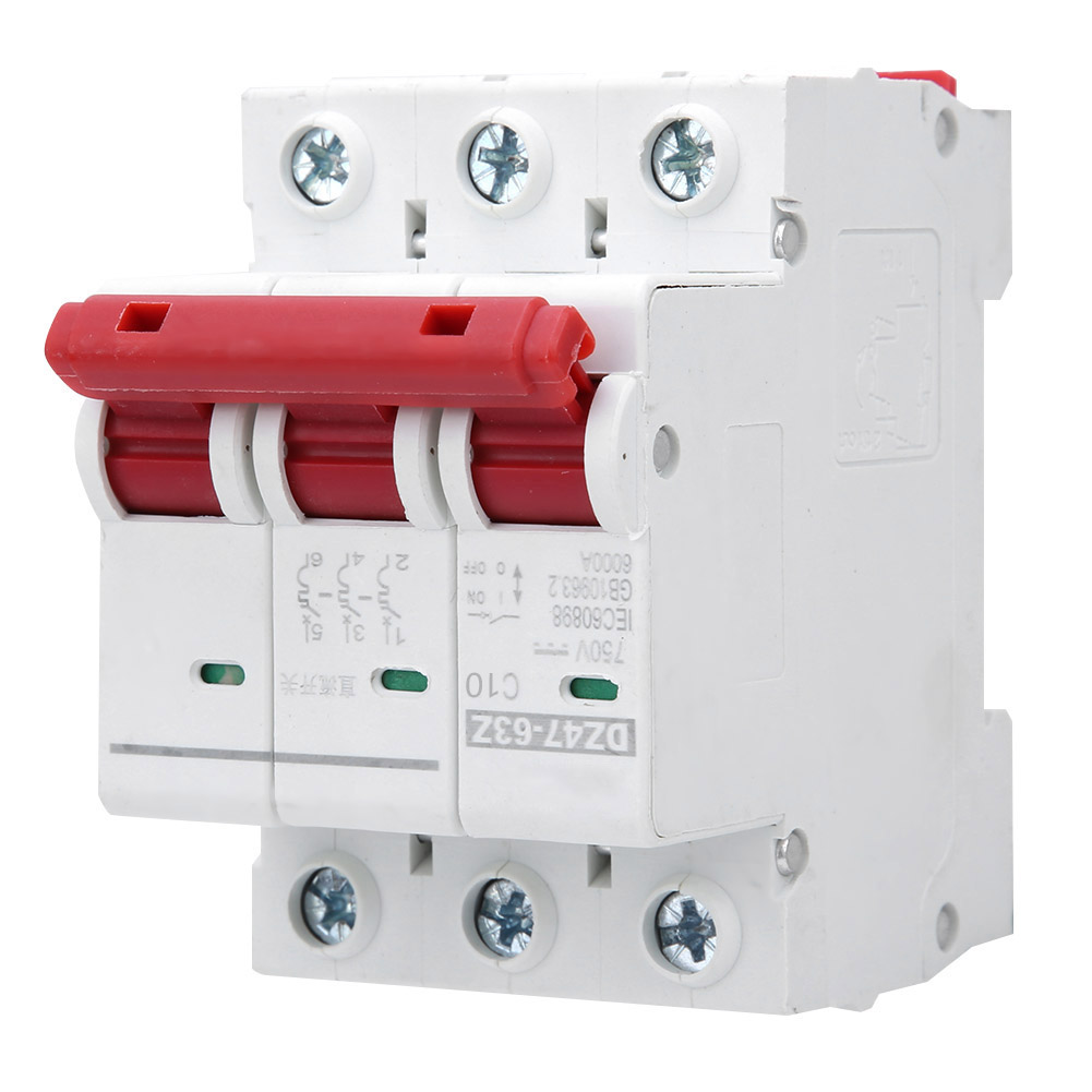 1-32A Arc Fault Circuit Breaker 2P Arc Fault Circuit Breaker Miniature Household Current Limiting Electric Leakage Protector