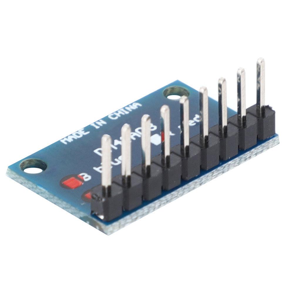 2x 3-24V 8 Bit Blue//Red LED indicator Bar Module Diy Kit for Arduino NANO MCU pi