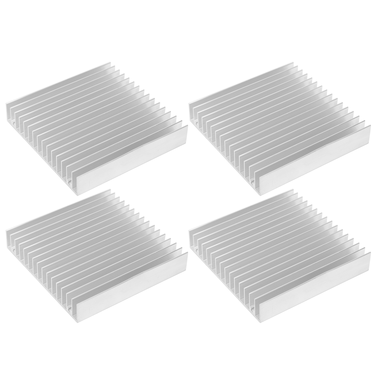 Strong And Durable Anti‑Corrosion 4Pcs Cooling Parts Transistors Ic Radiators for Amplifiers Cpus Heat Sink Board