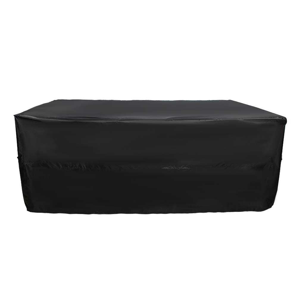 Indexbild 14 - 9FT Heavy Duty Fitted Leatherette Billiard Tabletop Pool Table Cover Waterproof