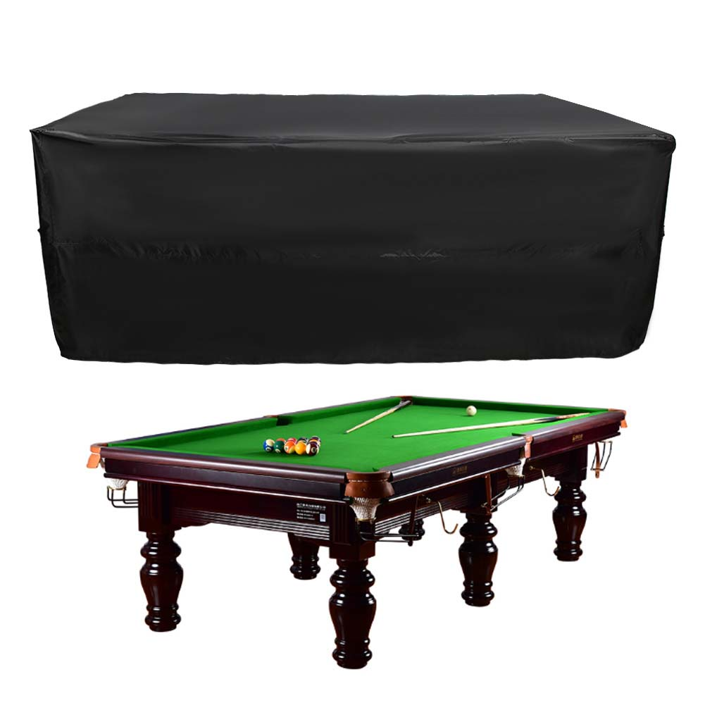 Indexbild 17 - 9FT Heavy Duty Fitted Leatherette Billiard Tabletop Pool Table Cover Waterproof