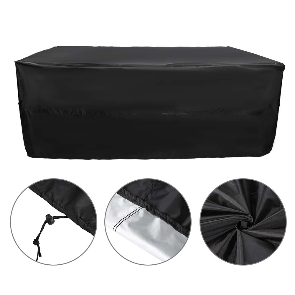 Indexbild 28 - 9FT Heavy Duty Fitted Leatherette Billiard Tabletop Pool Table Cover Waterproof