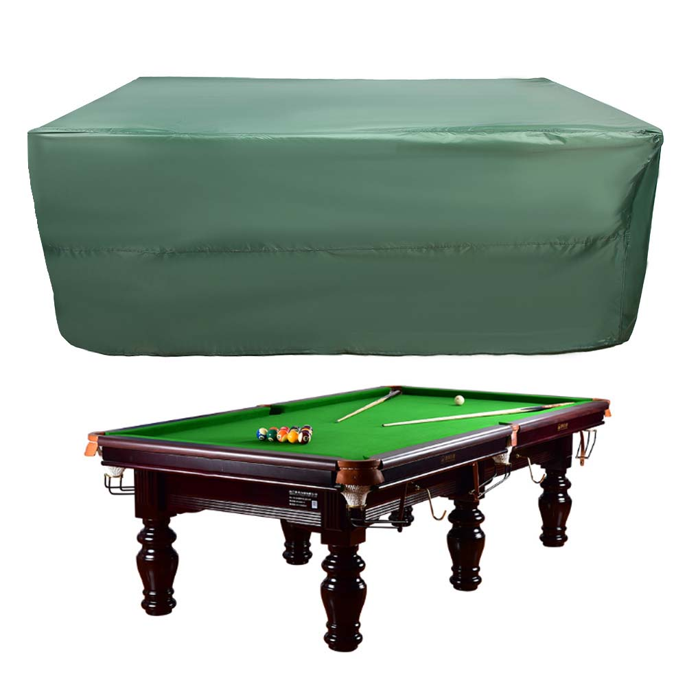 Indexbild 53 - 9FT Heavy Duty Fitted Leatherette Billiard Tabletop Pool Table Cover Waterproof