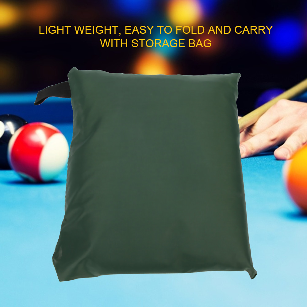Indexbild 56 - 9FT Heavy Duty Fitted Leatherette Billiard Tabletop Pool Table Cover Waterproof