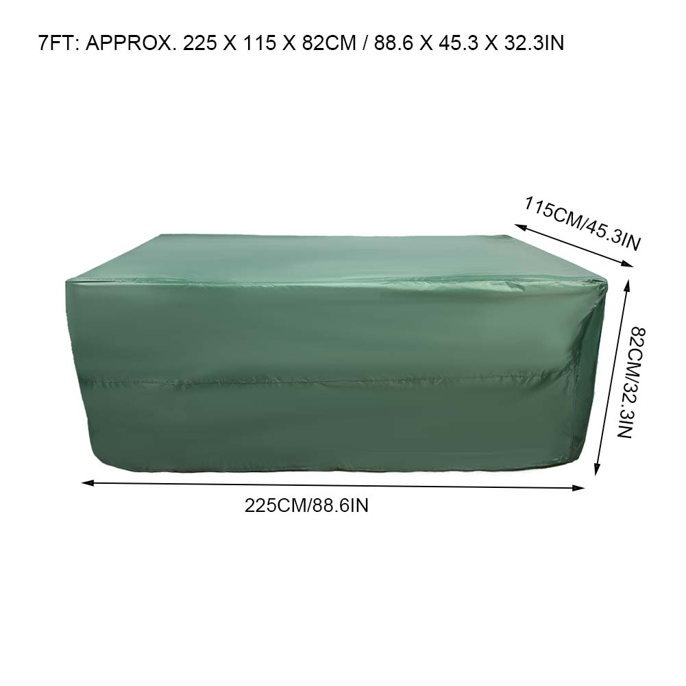 Indexbild 57 - 9FT Heavy Duty Fitted Leatherette Billiard Tabletop Pool Table Cover Waterproof