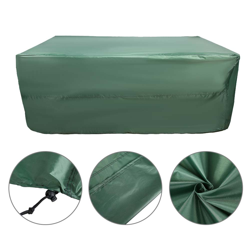 Indexbild 64 - 9FT Heavy Duty Fitted Leatherette Billiard Tabletop Pool Table Cover Waterproof