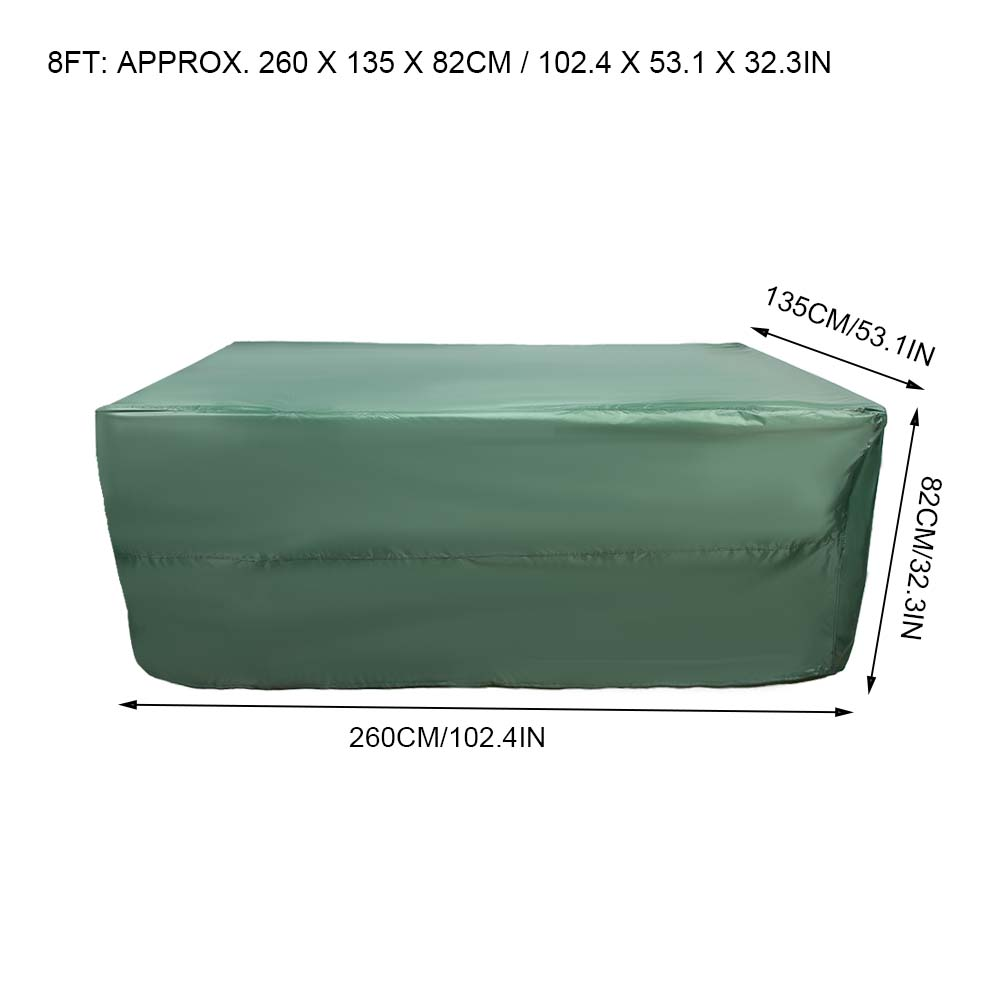 Indexbild 69 - 9FT Heavy Duty Fitted Leatherette Billiard Tabletop Pool Table Cover Waterproof