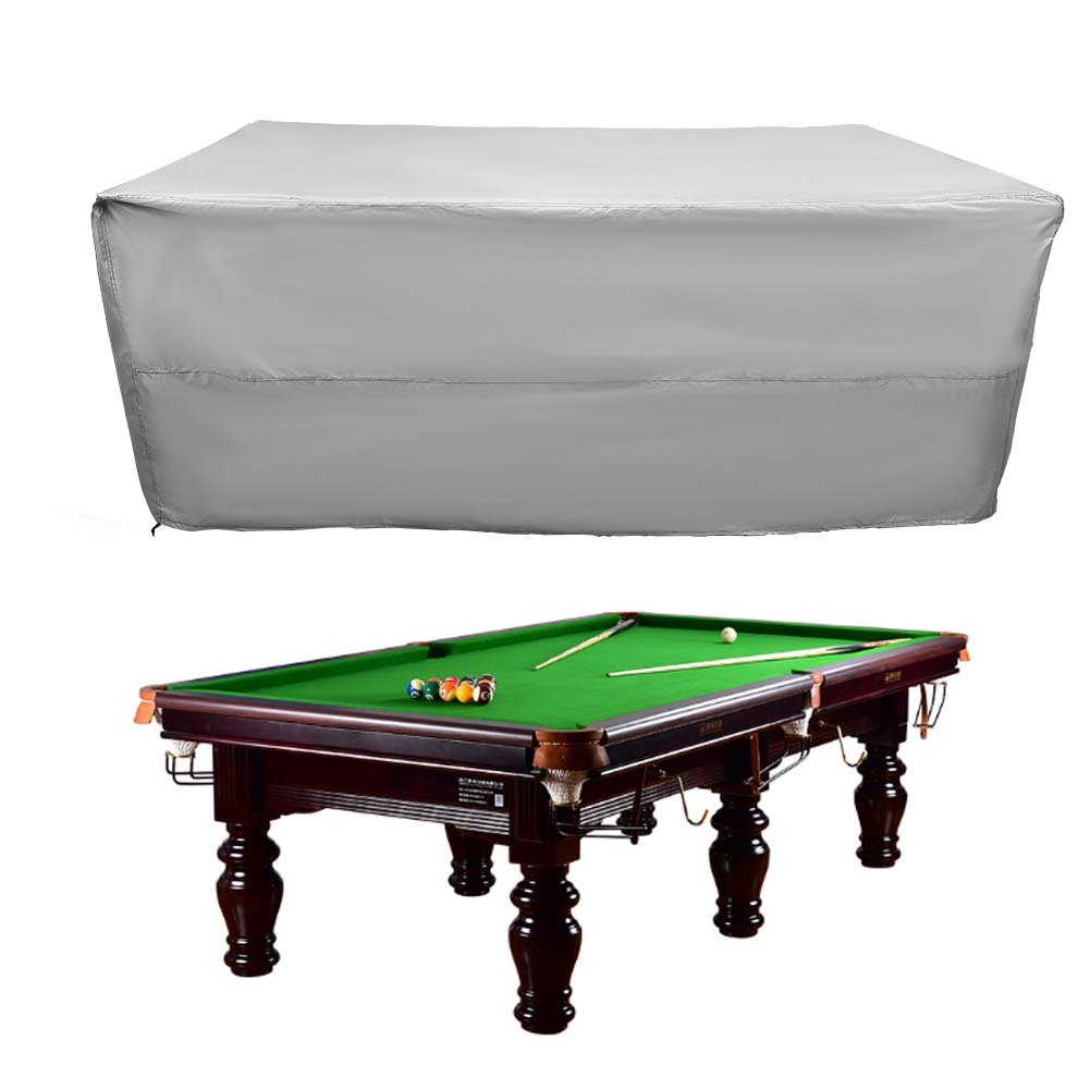 Indexbild 89 - 9FT Heavy Duty Fitted Leatherette Billiard Tabletop Pool Table Cover Waterproof