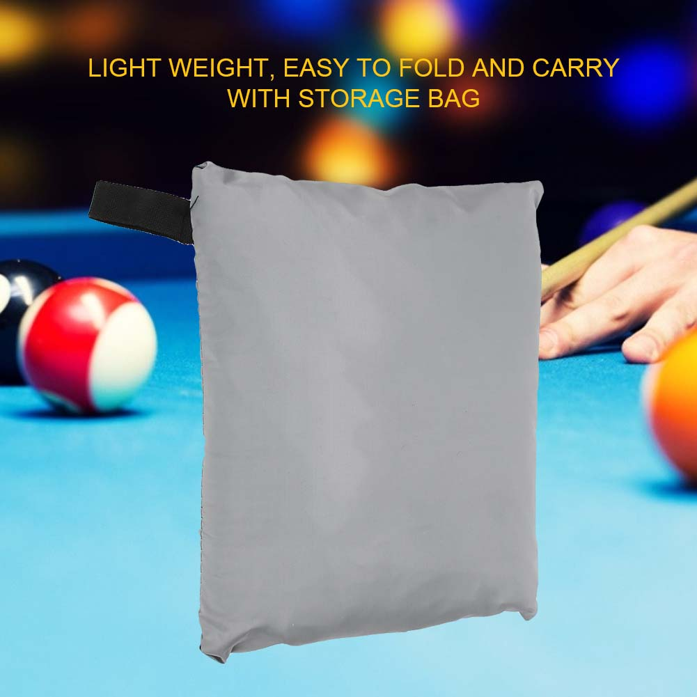 Indexbild 116 - 9FT Heavy Duty Fitted Leatherette Billiard Tabletop Pool Table Cover Waterproof