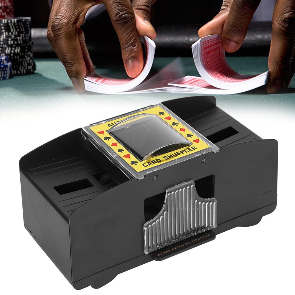 automatic poker card shuffler shuffling machine battery