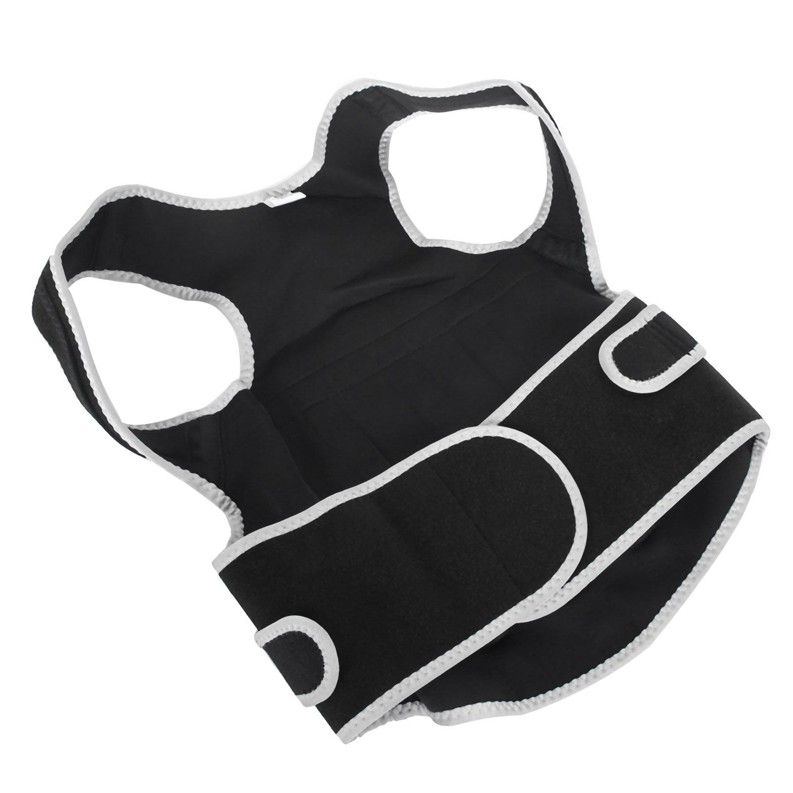 Posture-Corrector-Breathable-Back-Waist-Spine-Support-Belt-Brace-Straightener-GL thumbnail 15