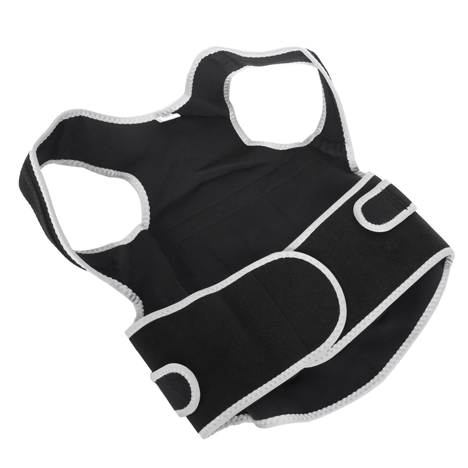 Posture-Corrector-Breathable-Back-Waist-Spine-Support-Belt-Brace-Straightener-GL thumbnail 18