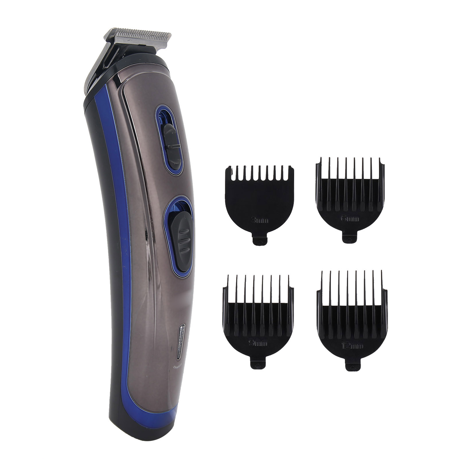 Indexbild 23 - Head Hair Eyebrow Trimmer Electric Shaver USB Rechargeable Clipper For Adult kid