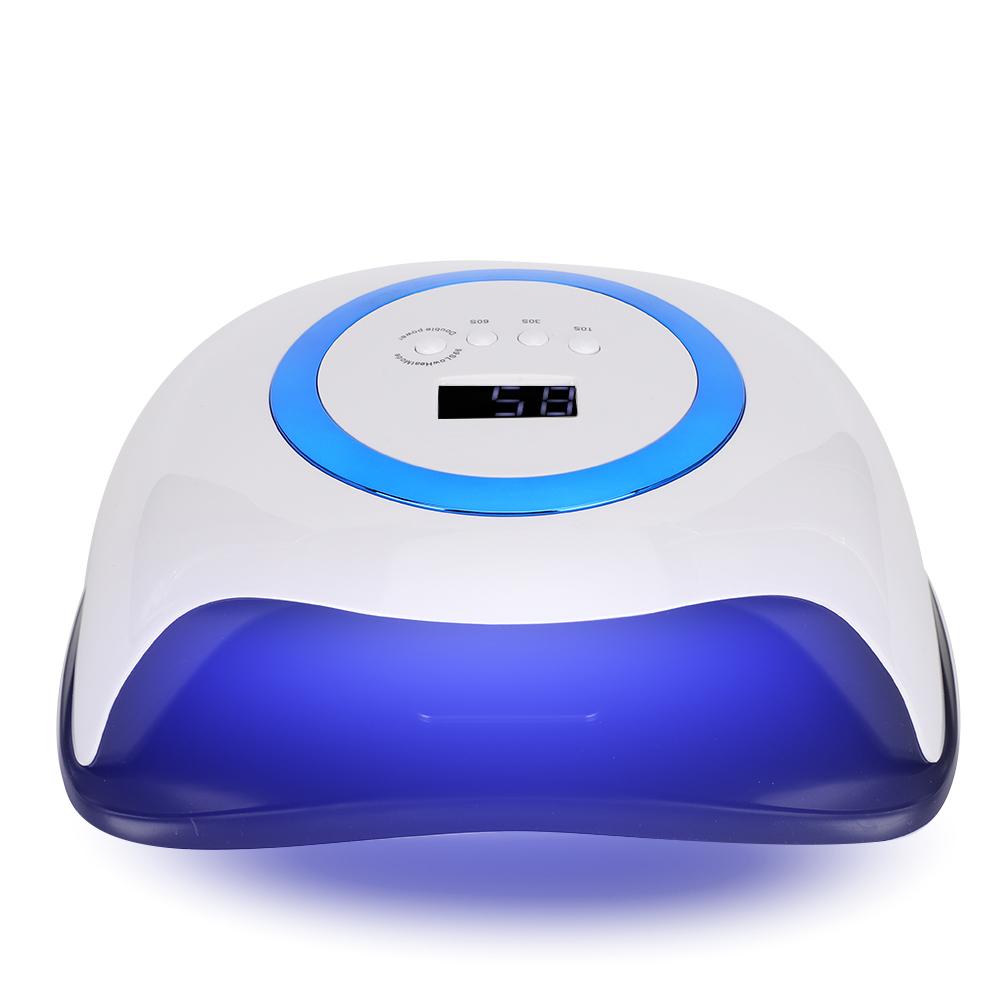 Indexbild 17 - Pro 108W Nail Polish Dryer Lamp LED  Gel Acrylic Curing Light Manicure 4 Timer