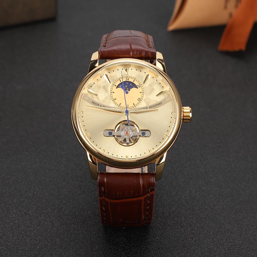 FORSINING-Men-Watches-Fashion-Casual-Wrist-Watch-Automatic-Waterproof-Watch thumbnail 16